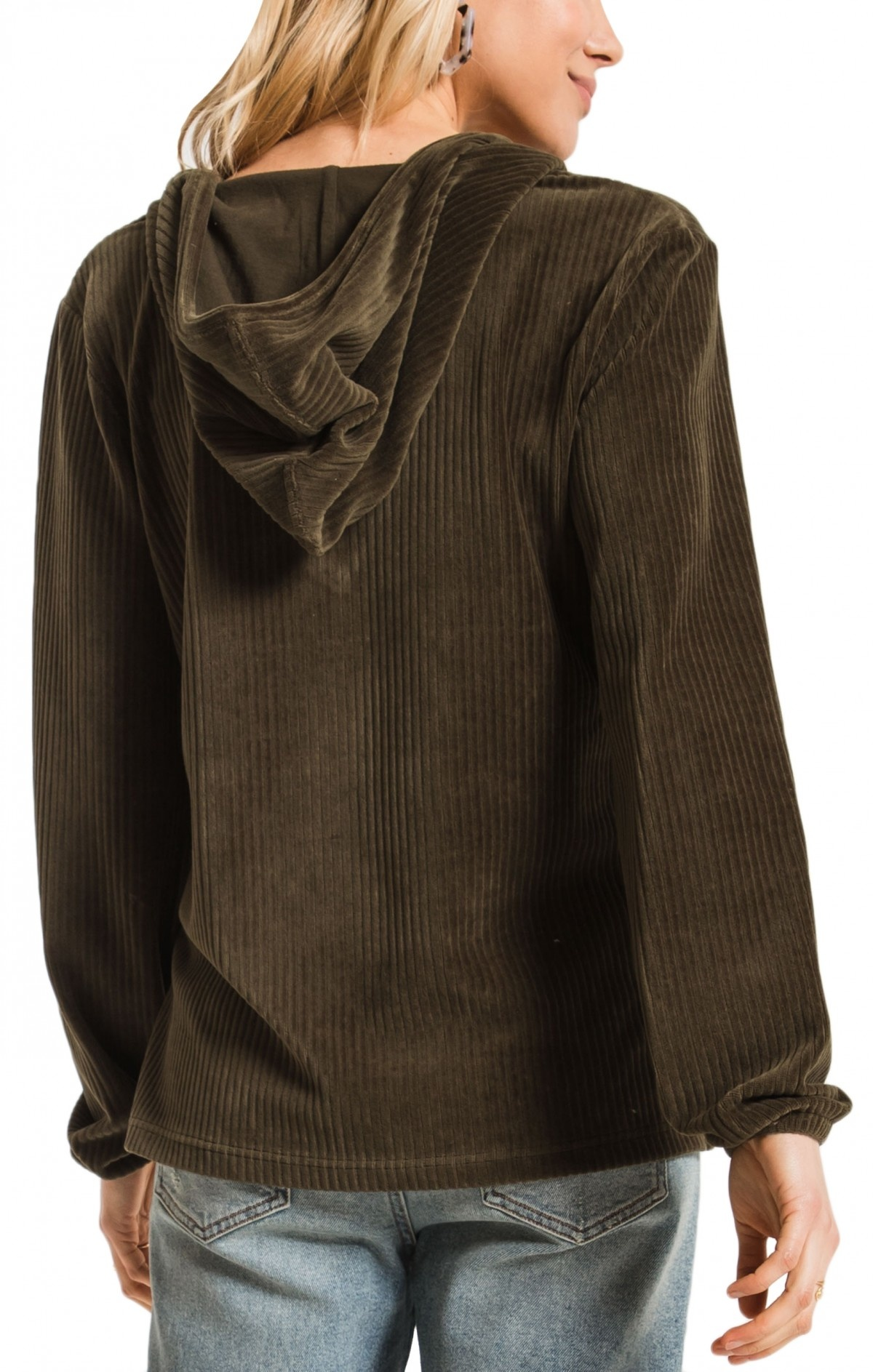 Z Supply The Wide Wale Corduroy Pullover
