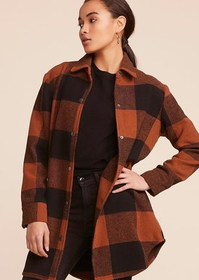 BB DAKOTA BB Dakota Jacket Eldridge Plaid Button Up