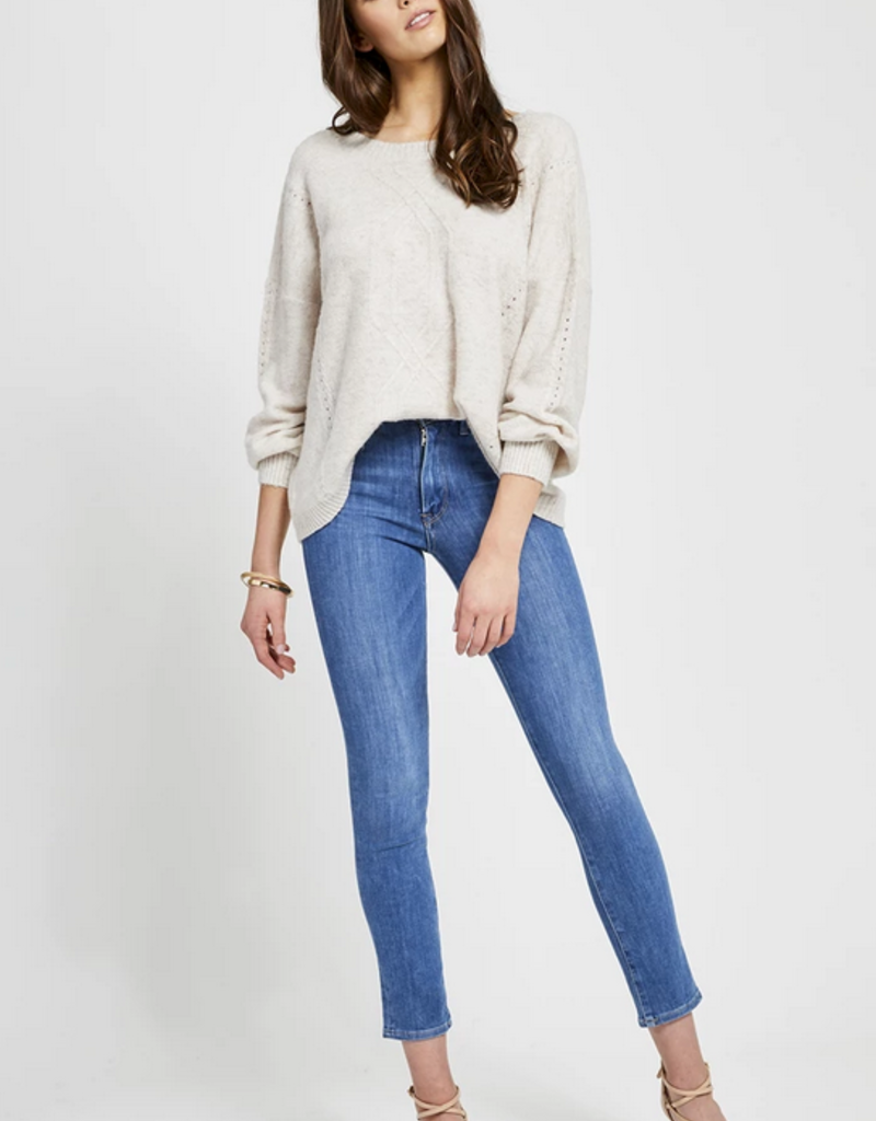 GENTLE FAWN Gentle Fawn Cosmo Sweater Crew Neck w/ V-Back