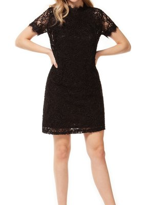 DEX Dex Dress S/Slv Crew Neck Lace