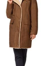 Black Tape Black Tape Coat Hooded Plush Jacket