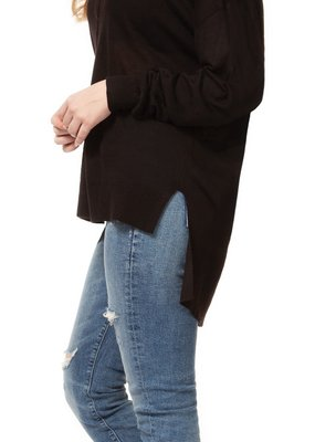 DEX Dex Light Knit Sweater L/Slv Crew Neck