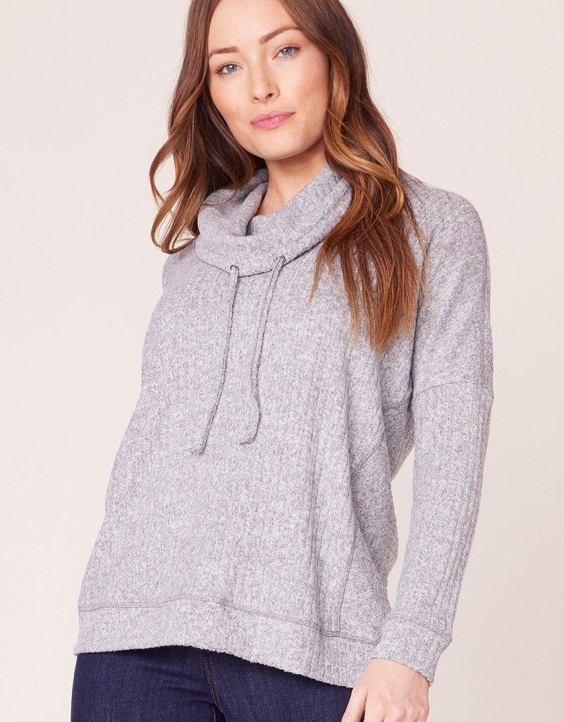 Jack JACK Sweater Grey Expectations Cowl Neck