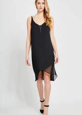GENTLE FAWN Gentle Fawn Aries Dress S/Less Hi-Low Midi