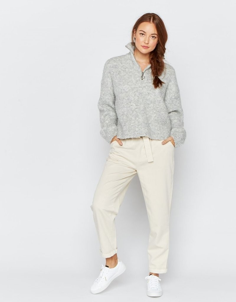 Thread and Supply Thread & Supply Pretty Thoughts P/O Boxy 1/4-Zip Sweater