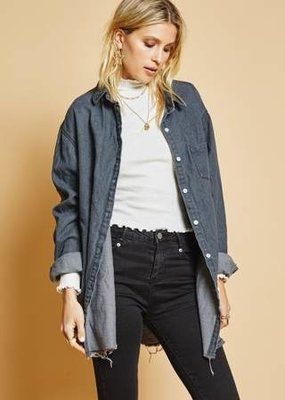 Sage The Label Sage The Label Weekend Society Denim Shirt