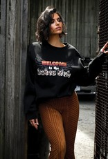 BRUNETTE BRUNETTE 1981 Collection Babes Club Step Sister Crew Neck