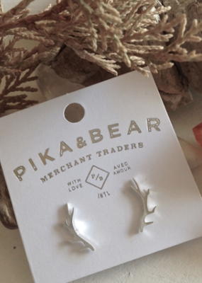 PIKA&BEAR Pika & Bear Freyr Antler Earrings