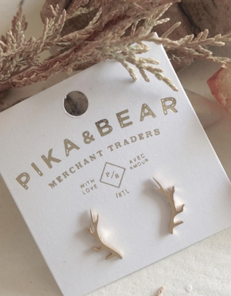 PIKA&BEAR Pika & Bear Freyr Antler Earrings