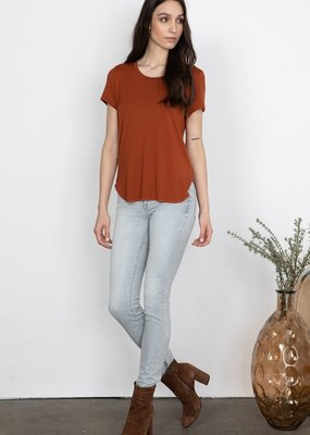 GENTLE FAWN Gentle Fawn Alabama Tee Curved Hem