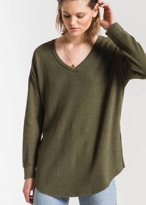 ZSUPPLY Z Supply The Waffle Thermal Distressed Top