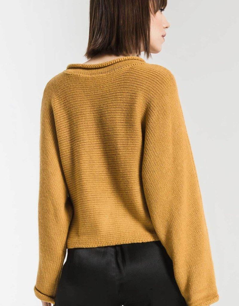 Rag Poets Rag Poets Alberte Sweater Cropped L/S