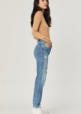 Mavi Jeans Mavi Jeans Lea High Rise Distressed Straight Leg
