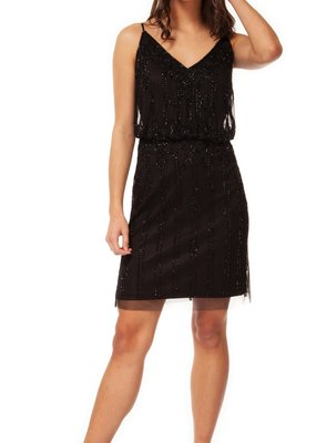 Black Tape Black Tape Dress Spaghetti Strap V-Neck