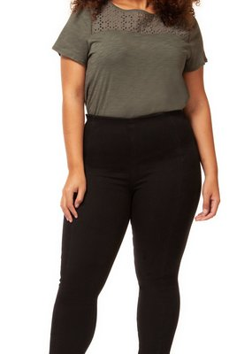 DEX Dex Plus Legging Pull on w/ Seam Detail