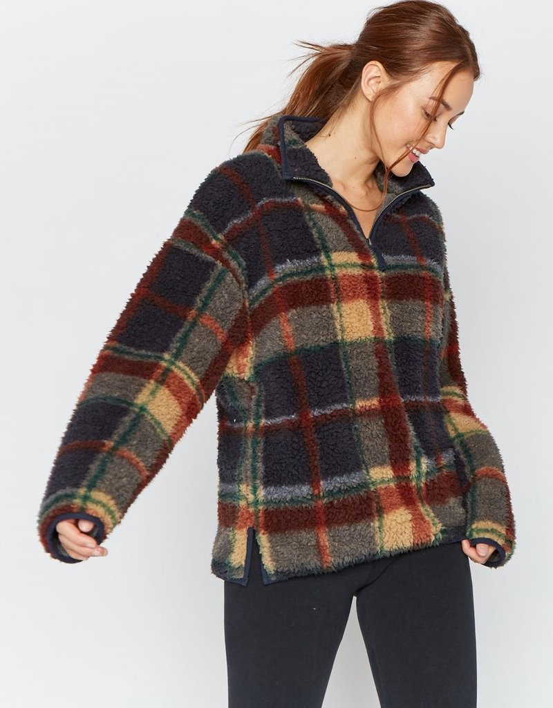 Thread and Supply Thread & Supply Walking Poetry Plaid Pullover