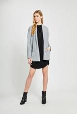 GENTLE FAWN Gentle Fawn Wendy Cardi L/Slv Open Knit w/ Pockets & Rolled Collar