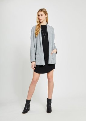 GENTLE FAWN Gentle Fawn Wendy Cardi L/Slv Open Knit w/ Pockets & Rolled Collar