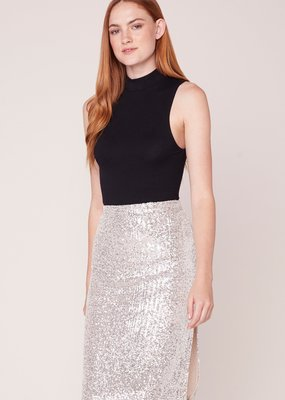 BB DAKOTA BB Dakota Spark This Joy Skirt Midi Sequin w/ Slit