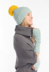 Look by M Look by M Cashmere Blended Cotton Candy Hat