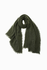 Look by M Look by M Vintage Raw Rough Fringe Scarf