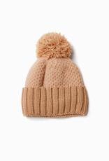 Look by M Look by M Chunky Knit Pom Pom Hat