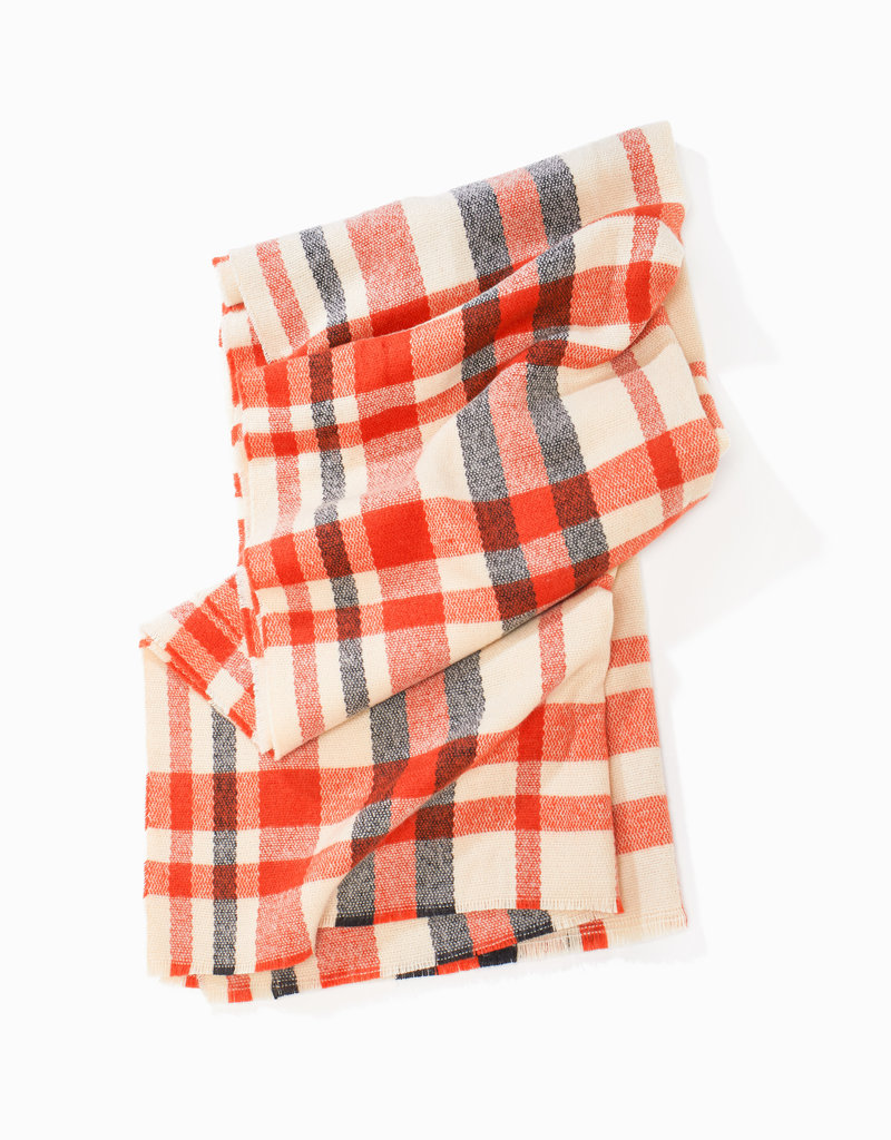 Look by M Look by M Loft Chunky Plaid Scarf