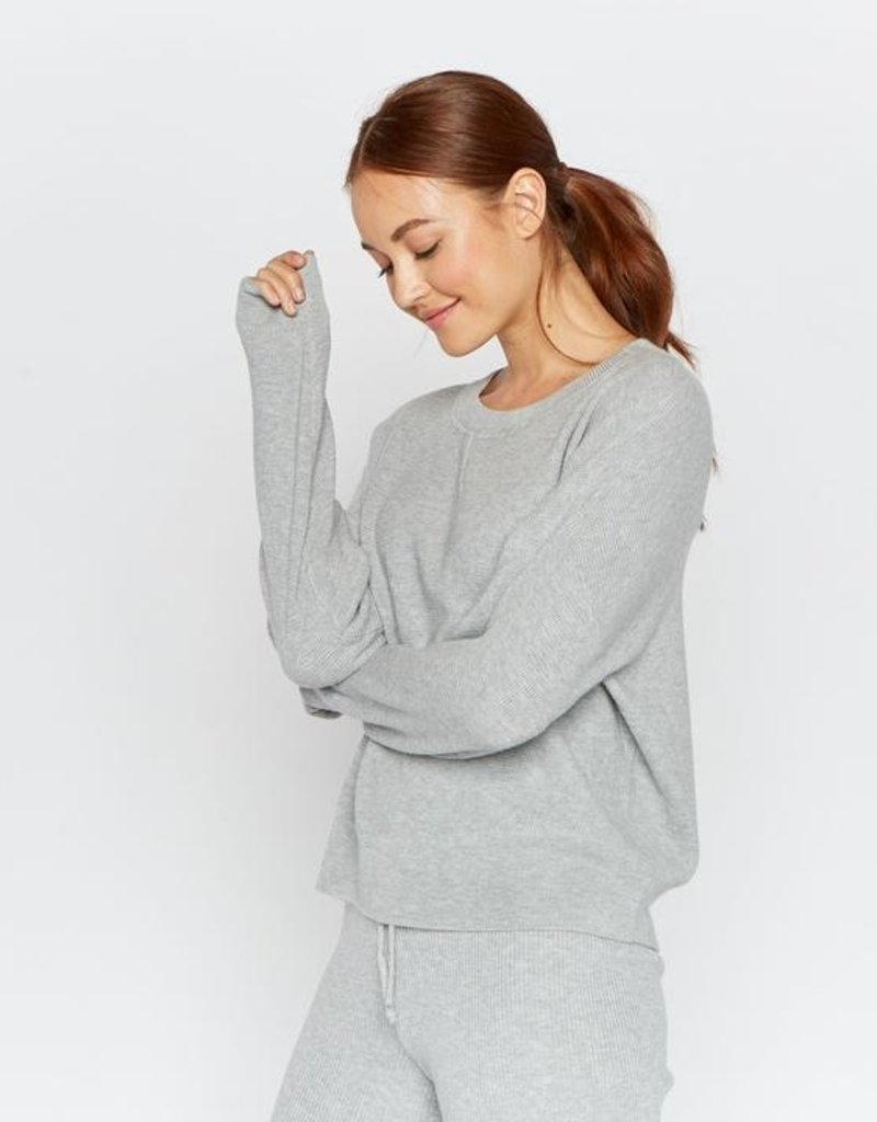 Thread and Supply Thread & Supply Calvin Thermal Top L/Slv Crew Waffle Texture
