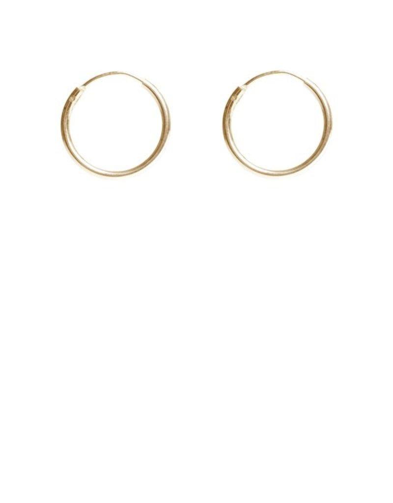 Lisbeth Earrings Basic Hoops