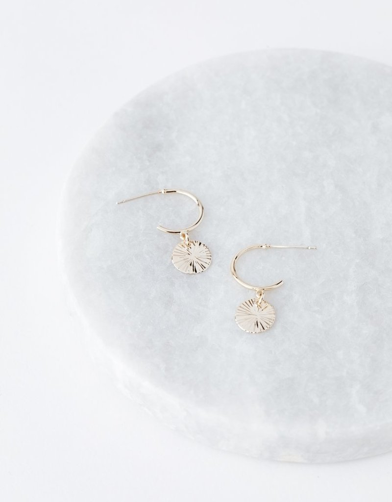 Lovers Tempo Lovers Tempo Earrings Everly Circle Hoop