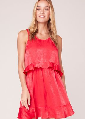 Jack JACK Dress Not Today Satin Layered Mini
