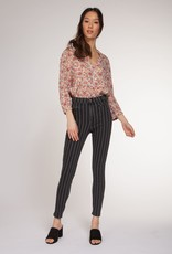 DEX Dex Pants High Rise Stripe Jeans