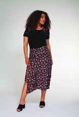 DEX Dex Plus Skirt Midi Skirt w/ Front Slit