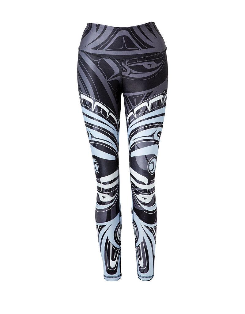 No.Mi.No.U No.Mi.No.U Athleisure Wolf & Moon Full Length Leggings