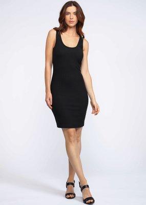 DEX Dex Dress Slv/lss Ribbed Bodycon Mini