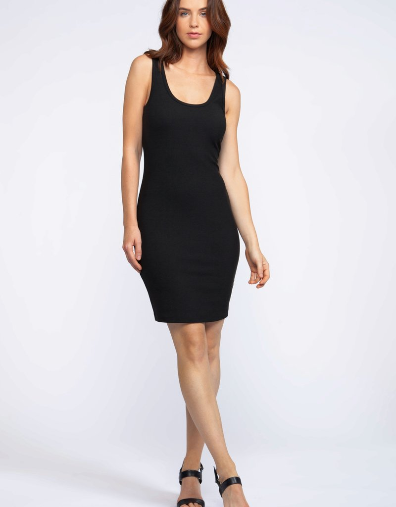 DEX Dex Dress Slv/lss Ribbed Bodycon Mini