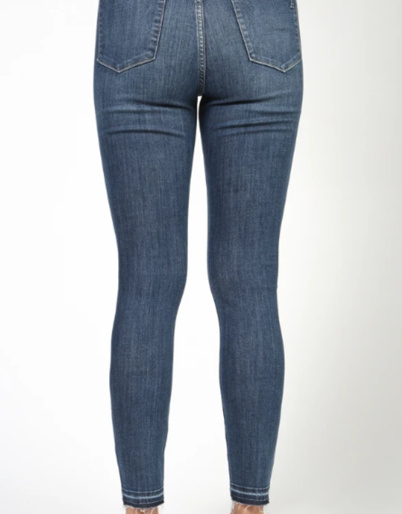 Articles of Society Articles of Society Heather Jeans High Rise Skinny W/ Raw Hem