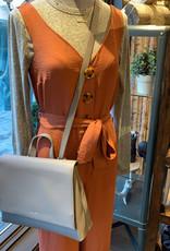 DEX Dex Jumpsuit  Slv/Less Buttondown w/ Waist Tie