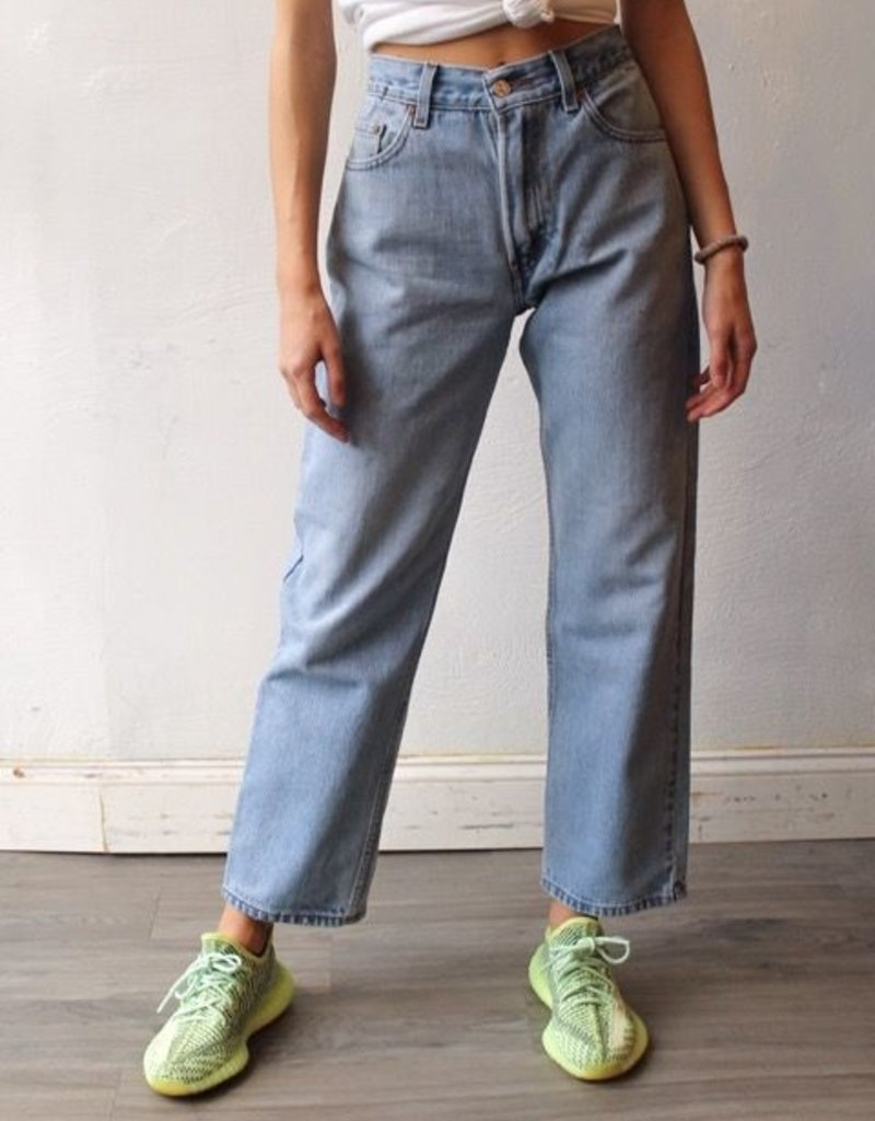 ARK REWORKED Ark Reworked High Waisted Denim Jeans
