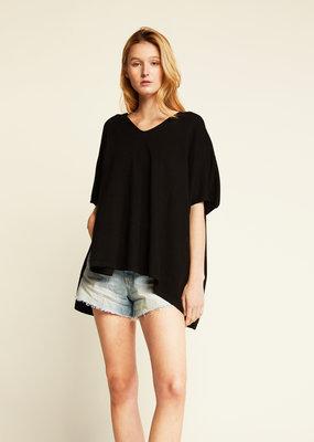 Look by M Look by M Merino Wool Half Sleeve P/O Poncho