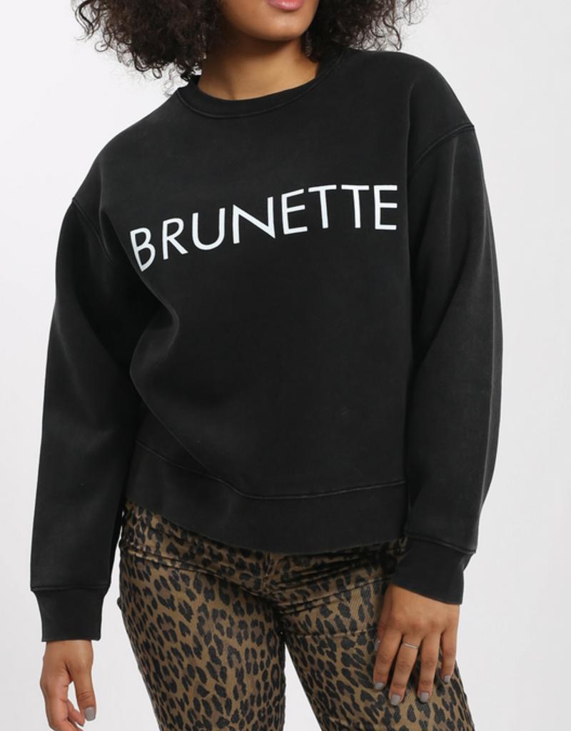 BRUNETTE BRUNETTE Step Sister Crew Brunette