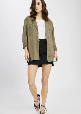 GENTLE FAWN Gentle Fawn Saunders Utility Jacket W/ Buttons