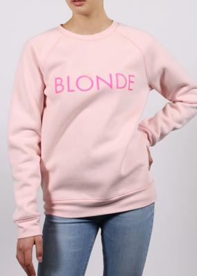BRUNETTE BRUNETTE Crew Blonde