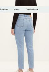 Frank & Oak Frank & Oak The Stevie High Waisted Non-Stretch Denim Jeans