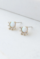 Lovers Tempo Lovers Tempo Earrings Juno Opal Studs