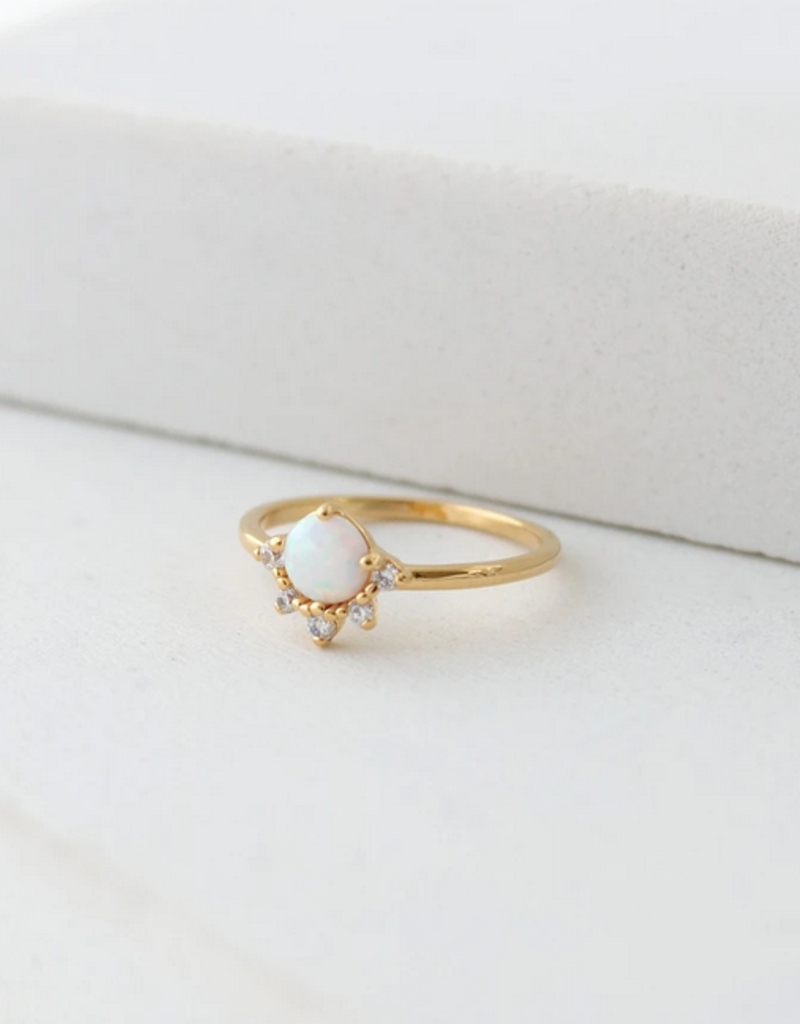 Lovers Tempo Ring Juno Opal Ring