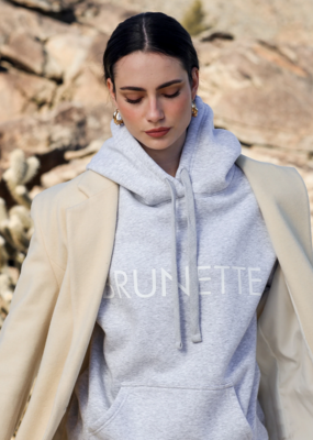 BRUNETTE BRUNETTE The Label Classic 'Brunette' Hoodie
