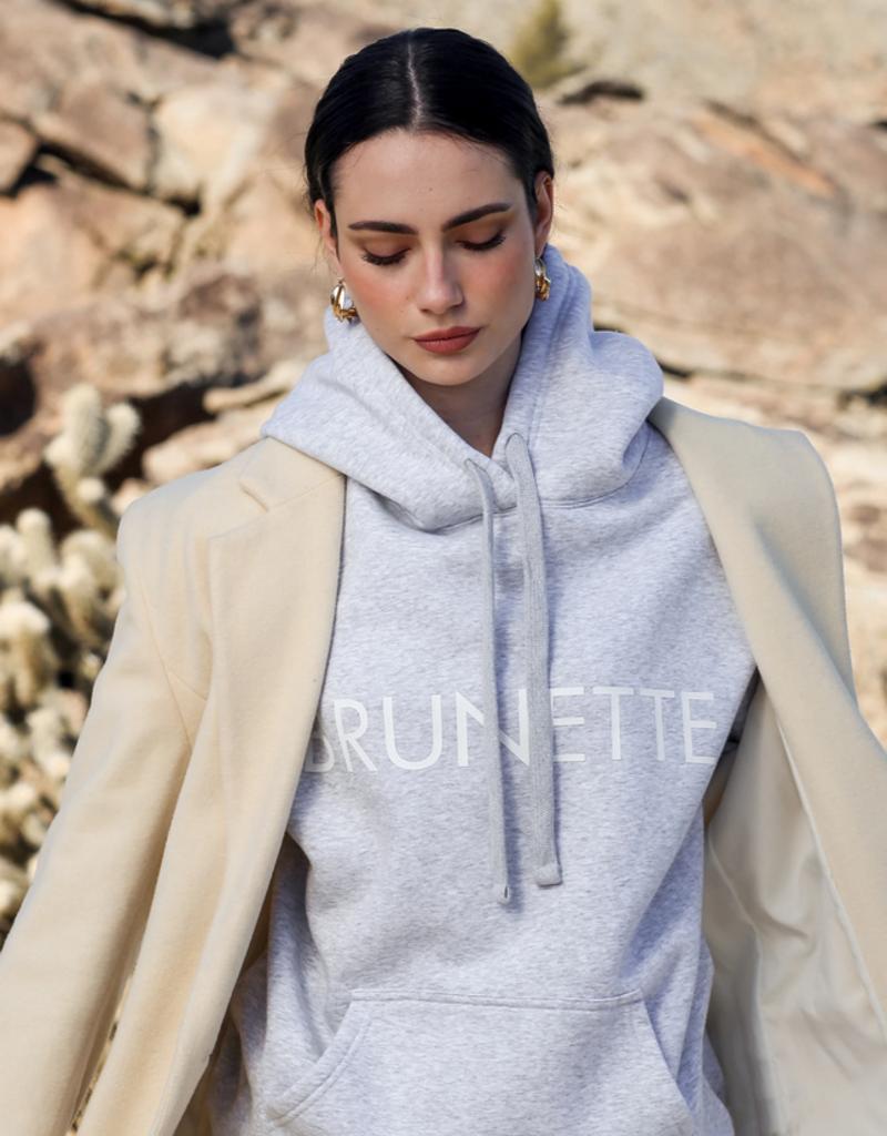 BRUNETTE BRUNETTE The Label Classic 'Brunette' Hoodie