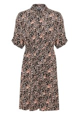 Soaked in Luxury Soaked In Luxury Dress Saphira Button Up Floral W/ Tie