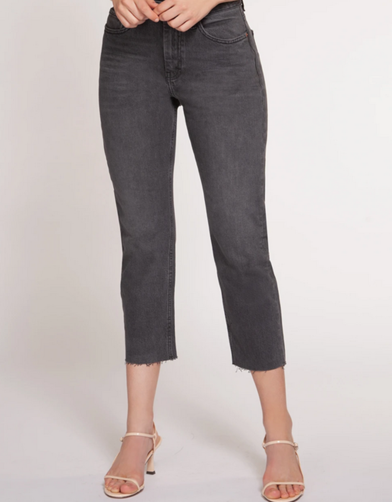 Black Tape Dex Denim High Waisted Zoe Straight Leg Jeans